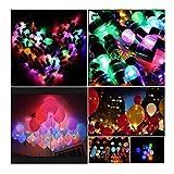 Yizhet LED Balloon Lights 30 Pack Multicolor LED