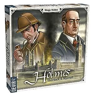 Devir - Holmes, Sherlock & Mycroft, Board Game: Amazon.es ...