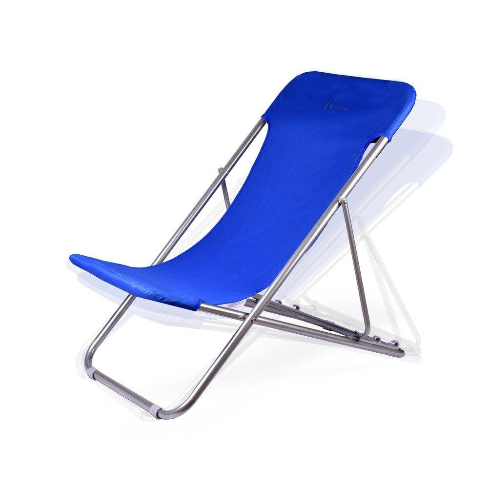 WUBOX Liegestuhl verstellbar- Sonnenliege Gartenliege Relaxliege Alu ...