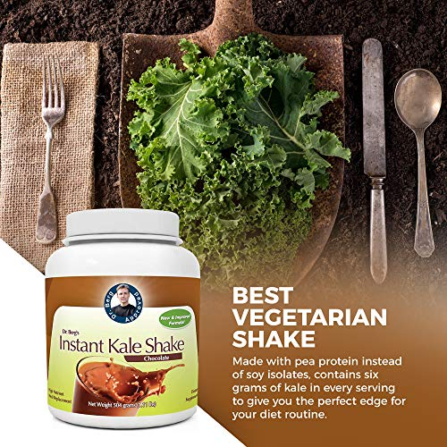 Instant Chocolate Kale Shake – High Quality Protein Powder – Weight Loss Shake – Meal Replacement By Dr. Berg (504 Grams) 7