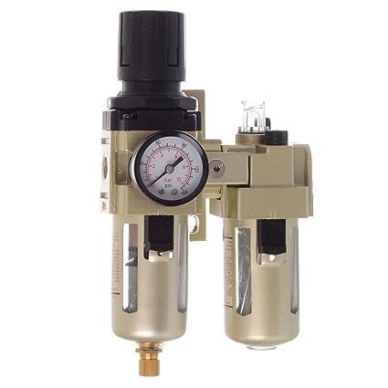 Unidad de mantenimiento de aire comprimido manorreductor Lubricador para compresor 1700L/min Impacto de 1
