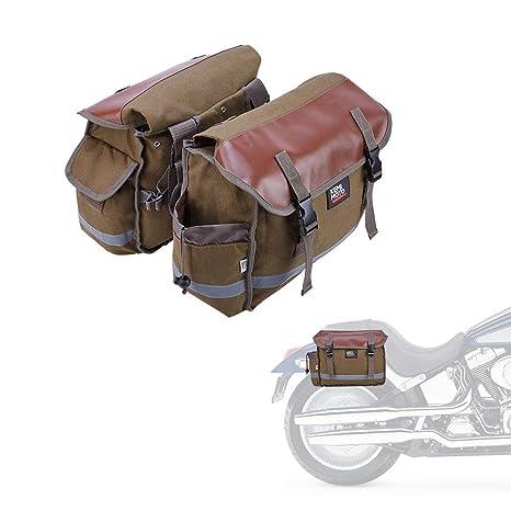 Amazon.com: Bolsas para sillín de motocicleta., Motocicletas ...