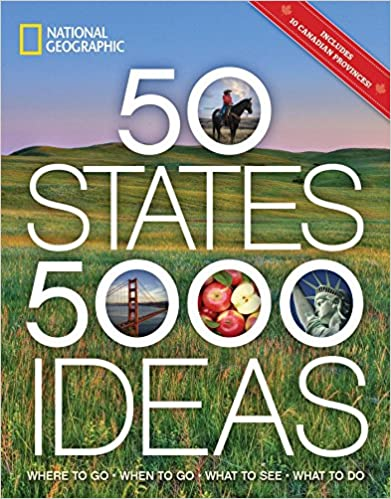 The 50 States, 5,000 Ideas by Joe Yogerst travel product recommended by Robin Buck on Lifney.