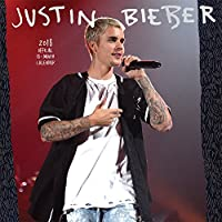 Justin Bieber 2018 12 x 12 Inch Monthly Square Wall Calendar by Bravado with Foil Stamped Cover, Music Pop Singer Songwriter Celebrity