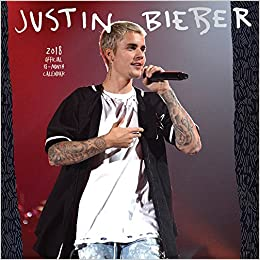 2018 Justin Bieber Wall Calendar Inc Browntrout Publishers Amazon