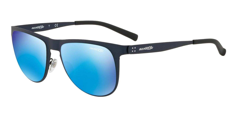 c465f31c25 Amazon.com  Arnette Men s Joneser Non-Polarized Iridium Rectangular  Sunglasses rough black 54.0 mm  Clothing