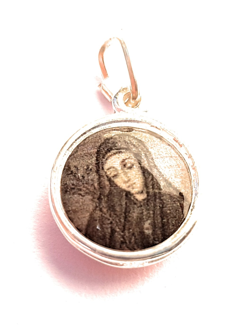 Relic Medal 3rd Class Mariana de Jesús de Paredes patron of Ecuador Americas bodily ills loss of parents people rejected by religious orders sick people sickness nacida María Ana de Paredes Flores