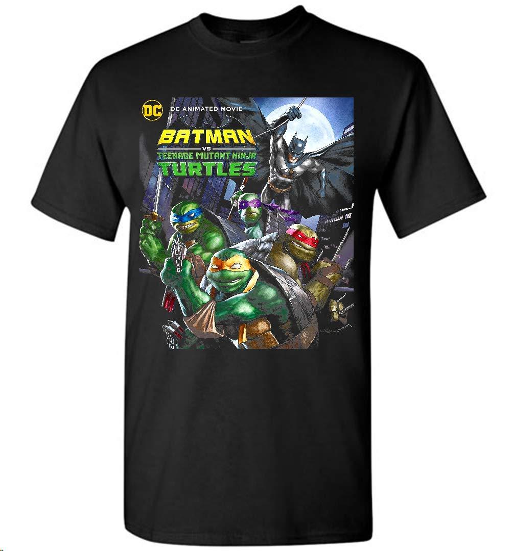 Amazon.com: Batman vs Teenage Mutant Ninja Turt- T-Shirt For ...