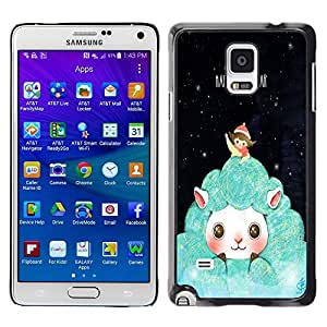 Dragon Case - FOR Samsung Galaxy Note 4 - happy new year - Caja protectora de pl??stico duro de la cubierta Dise?¡Ào Slim Fit