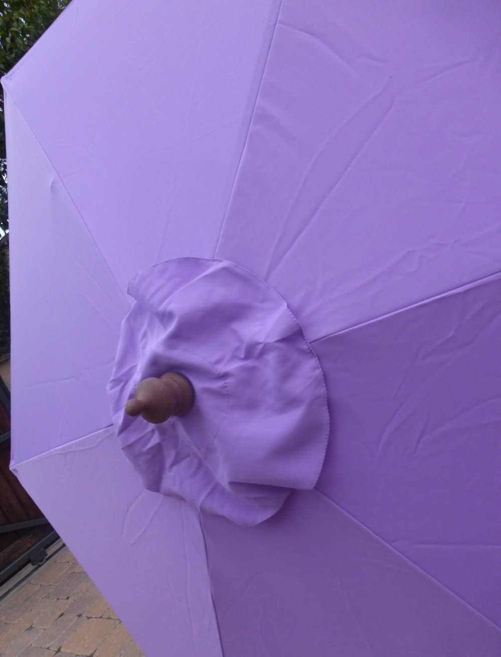 HOT Pink Canopy Only Formosa Covers 9ft Umbrella Replacement Canopy 6 Ribs in Fuchsia