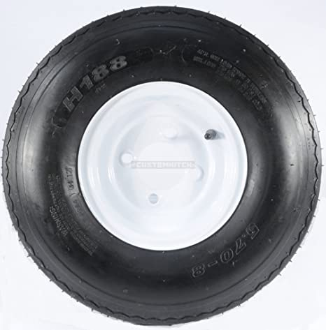 Amazon Com Ecustomrim Trailer Tire Rim 5 70 8 570 8 5 70 X 8 8
