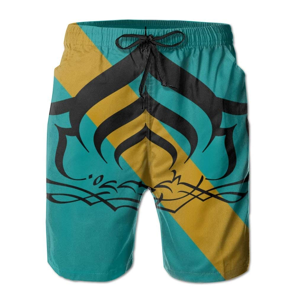 Warframe Mens Athletic Classic Summer Boardshorts with Pockets