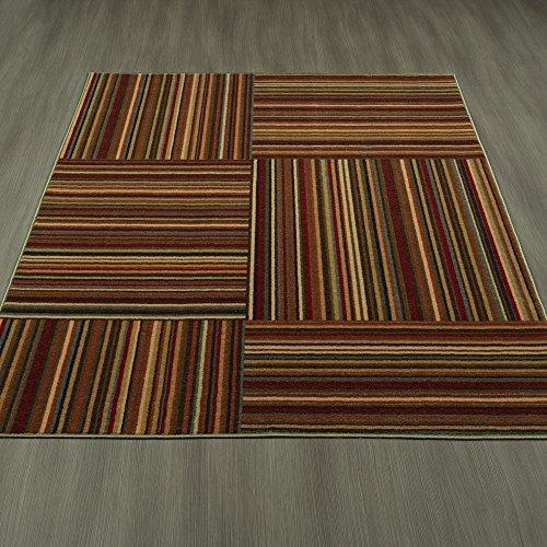 Ottomanson Studio Collection Striped Design Area Rug, 3'3
