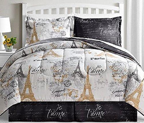Fairfield Square Collection Paris Gold 8-Pc Full/Queen size Reversible Comforter Sets (Fairfield Sets Comforter)