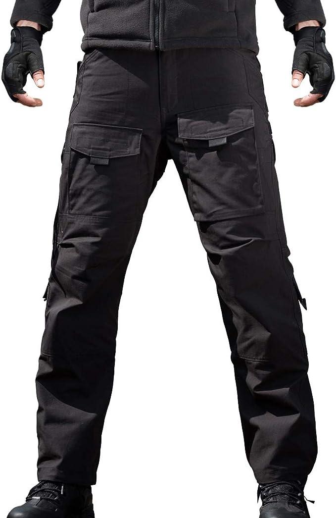 Ropa Free Fly Hombres Pantalones De Combate Pantalones Tacticos De Los Hombres Pantalones Militares Al Aire Libre Pantalones De Trabajo Negro Waist 36 Eu52 Deportes Y Aire Libre Lekabobgrill Com