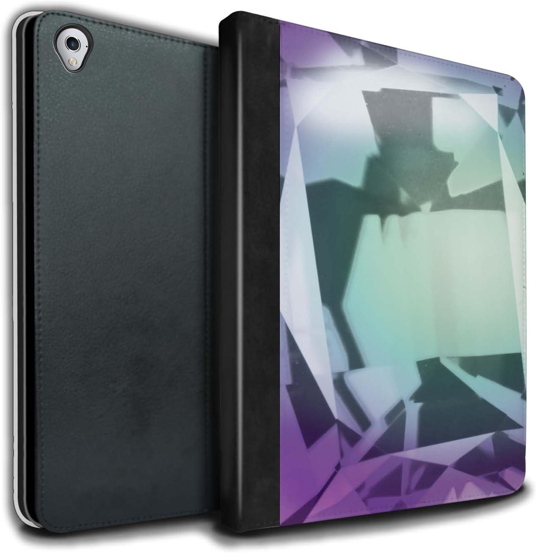 Stuff4 PU Cuero Funda/Carcasa/Folio Libro en para el Apple iPad Pro 9.7 Tablet/Serie: Piedra Zodíaco/Preciosa - Junio/Alexandrita