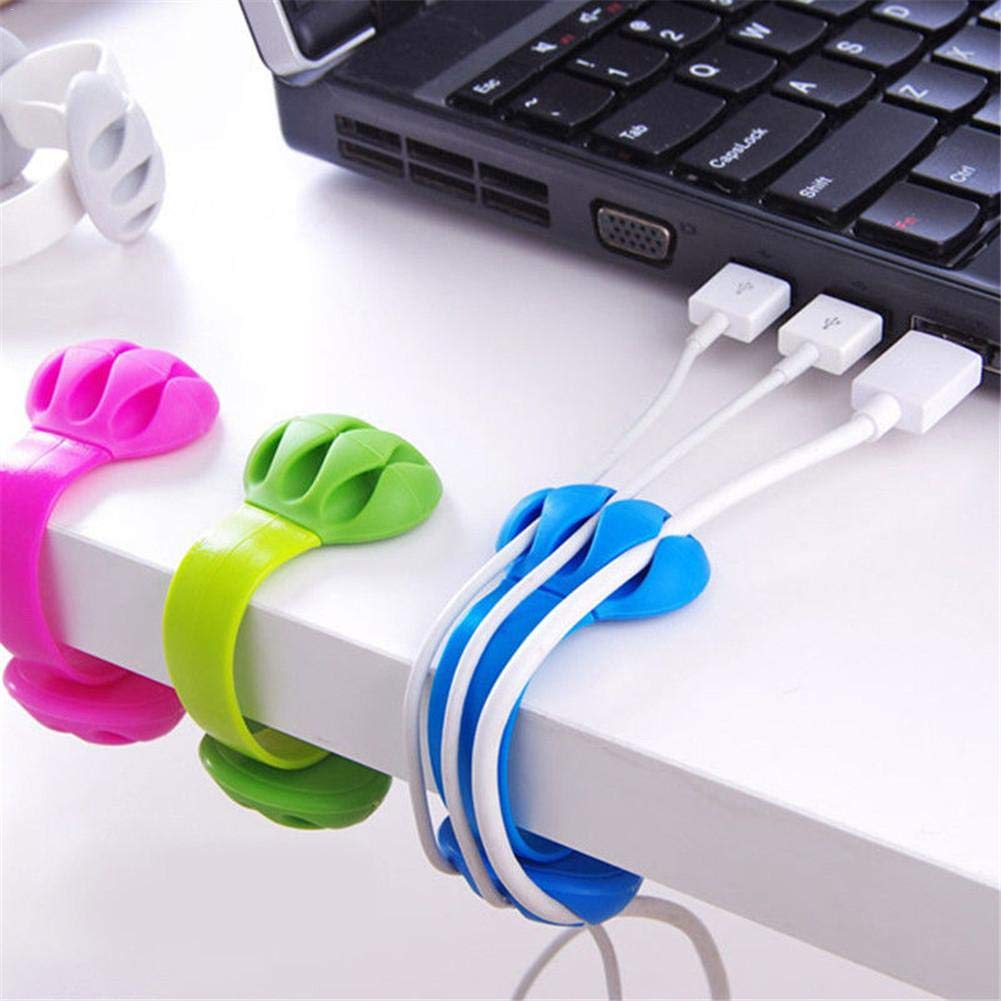 Amazon price history for CRD PRODUCTS Holder Cable Winder Wire Organizer Desktop Clips Management Headphone Cord Holder For IPhone Charging Data Line Protect Office