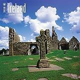 Ireland 2018 12 x 12 Inch Monthly Square Wall Calendar, Scenic Travel Dublin Irish (Multilingual Edition)