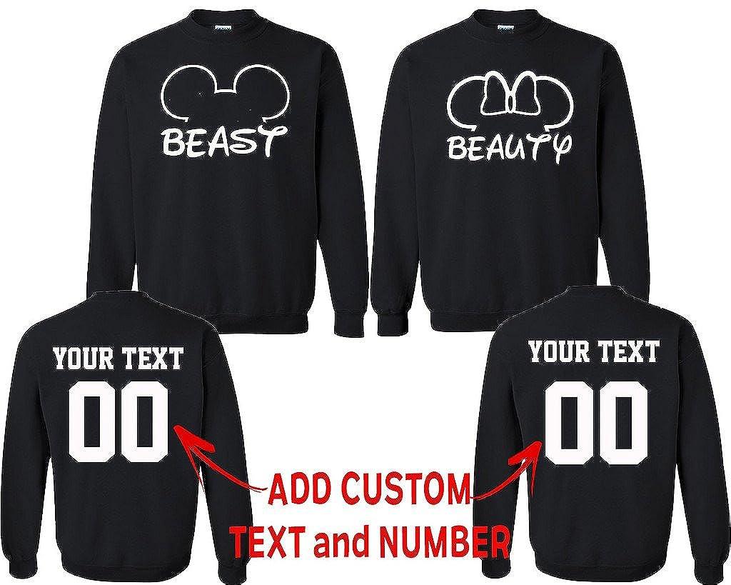 Amazon Crazydaisyworld Beast Beauty Mouse Ear Customized Text
