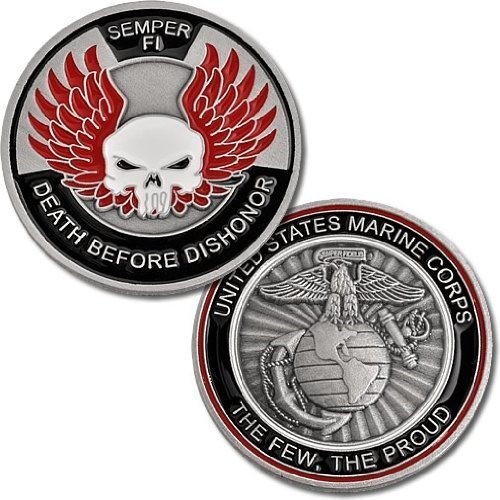 Marines Death Before Dishonor Challenge
