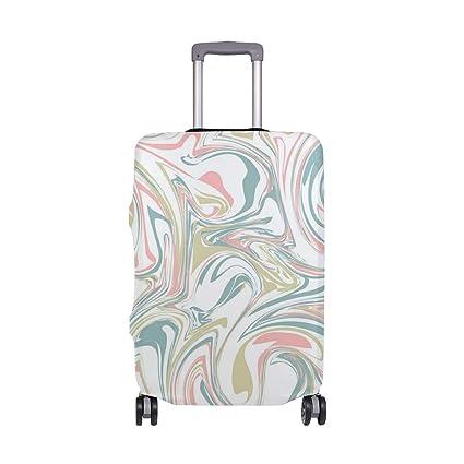 Amazon.com: Hermoso y colorido diseño de mármol para viajes ...