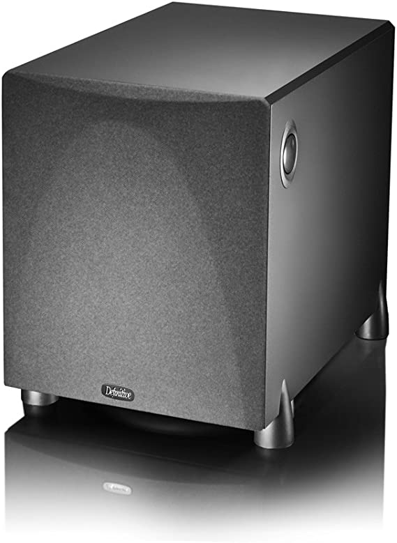 Definitive Technology ProSub 800 - High Output Compact 300W Powered Subwoofer | Heart-thumping Sound for Home Theater System | (Single