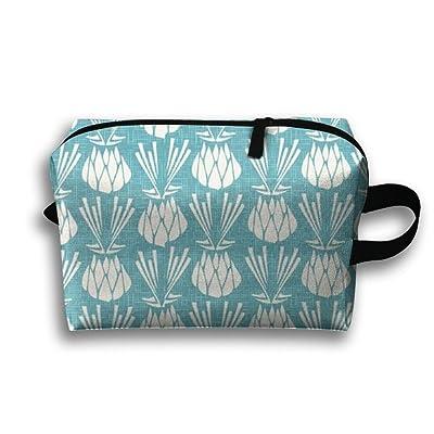 DTNGjuY Lightweight And Waterproof Multifunction Storage Luggage Bag Colorful Flowers