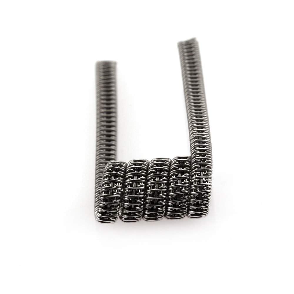 Heating Coils Clapton Coil 0.35ohm Heating Coils 10pcs Kanthal A1 Wire Heating Wire for RBA RDA RTA Demon Killer Staple Vape Clapton Coils