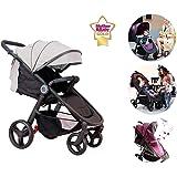 Star Ibaby Air - Silla de paseo, color Black