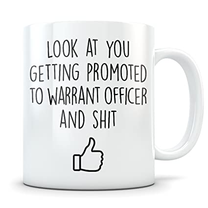 Amazon com: Warrant Officer Promotion Gift for Men and Women
