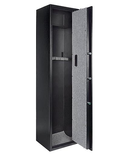 Bon Gearmart Fast Access Rifle Safe Large And Durable For 5 Gun Shotgun Cabinet