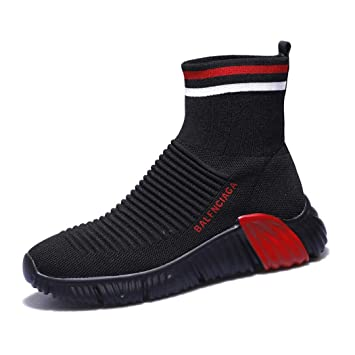 Zapatos para Caminar de Las Mujeres Zapatos de Correr Calcetines de Moda Zapatillas de Deporte de