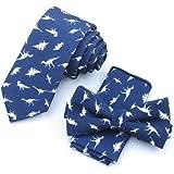 ADELINA Hombres a juego coreano corbata estrecha pajarita toalla ...