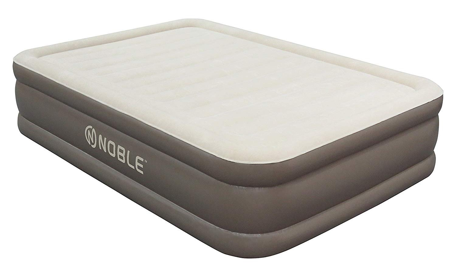 Noble Twin XL Size Luxury Double HIGH Raised Air Mattress Top Inflatable Upgraded Airbed with Built-in Pump Elevated…