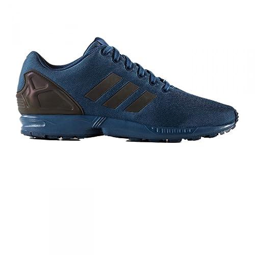 06881a4068e adidas Zx Flux Trainers Blue 5 Child UK  Amazon.co.uk  Shoes   Bags
