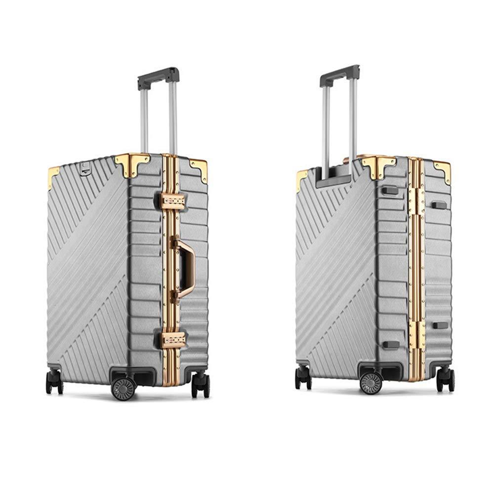 トロリーケース荷物アルミフレームと PC シェルアンチスクラッチトロリー荷物 20