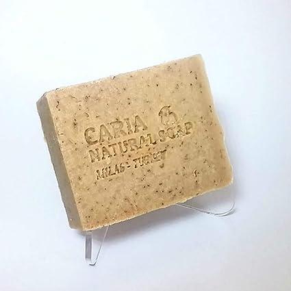 Caria Jabón natural hecho a mano hecho a mano con leche de cabra y miel de