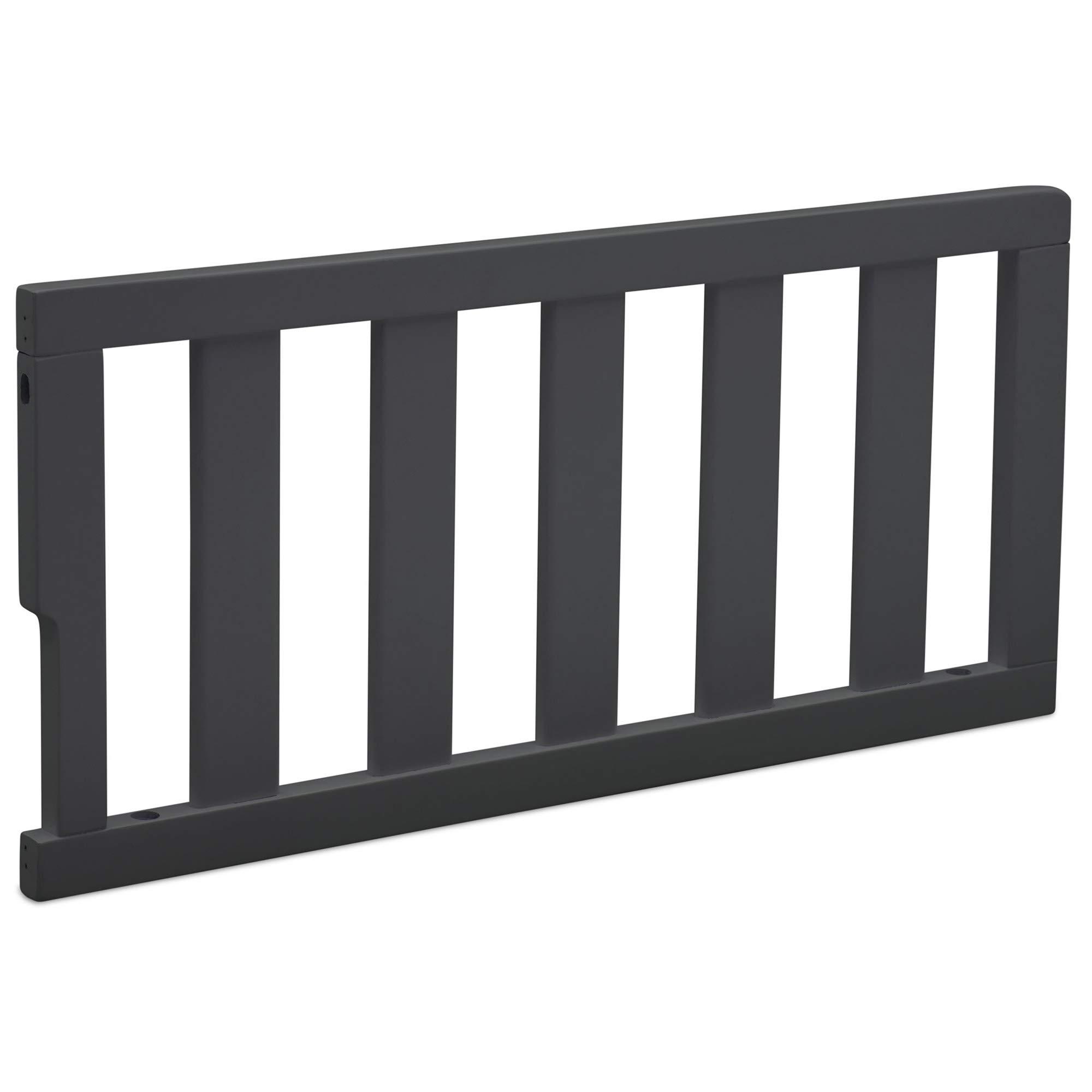 Delta Children Bennington Elite Toddler Guardrail #550725, Charcoal Grey by Delta Children