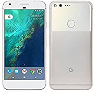 Google Pixel 1st Gen 32GB Factory Unlocked GSM/CDMA Smartphone for all GSM Carriers + Verizon Wireless + Sprint - Very Silver