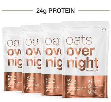 Oats Overnight Mocha Sueño (2.8oz por paquete)-alta en ...