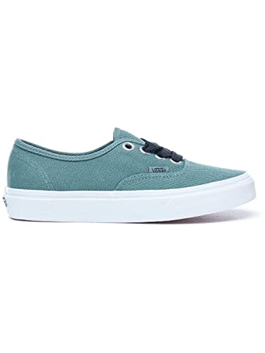 56473249112469 Image Unavailable. Image not available for. Color  Vans Authentic Mens Size  8   Womens Size 9.5 Oversized Lace Silver Pine Green True White