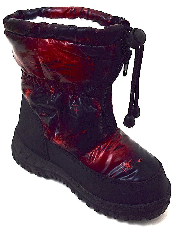 Magnus Kinder Winter Boots Stiefel Schneeboots Gr. 28-34 Schwarz/Grau,  Dunkelrot: Amazon.de: Schuhe & Handtaschen