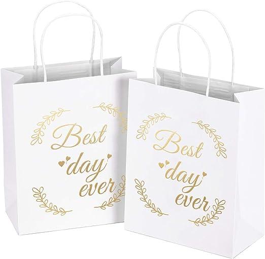 "9/"" Medium Metallic Matte Party Supplies Favor Gift Bags w// Handle"