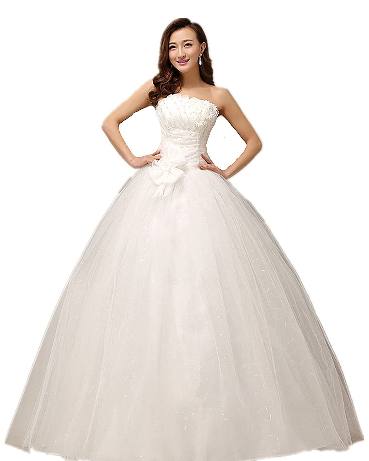 atopdress@ XF01 Wedding bride wear big day dress eveing ball prom dress party wear