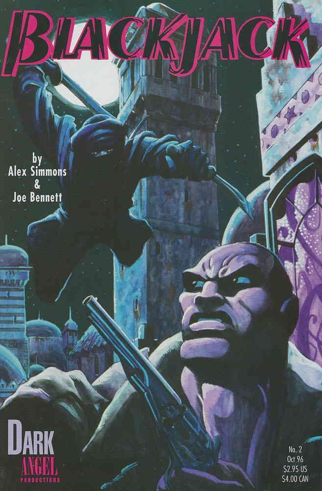 Blackjack (Vol. 1) #2 FN ; Dark Angel comic book