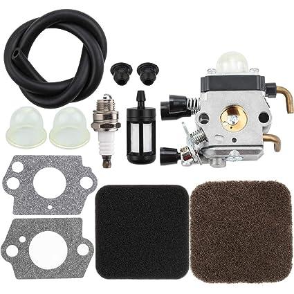 Amazon.com: Leopop Carburetor con filtro de aire de línea de ...