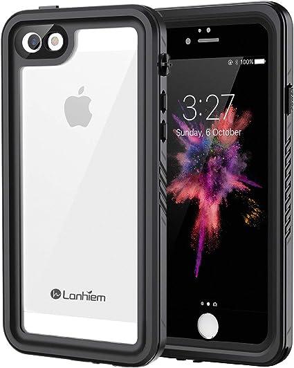 Lanhiem Cover iPhone 5,Cover Impermeabile iPhone 5S[IP68 Certificato Waterproof]Full Body con Protezione dello Schermo Antiurto Antineve Antipolvere ...