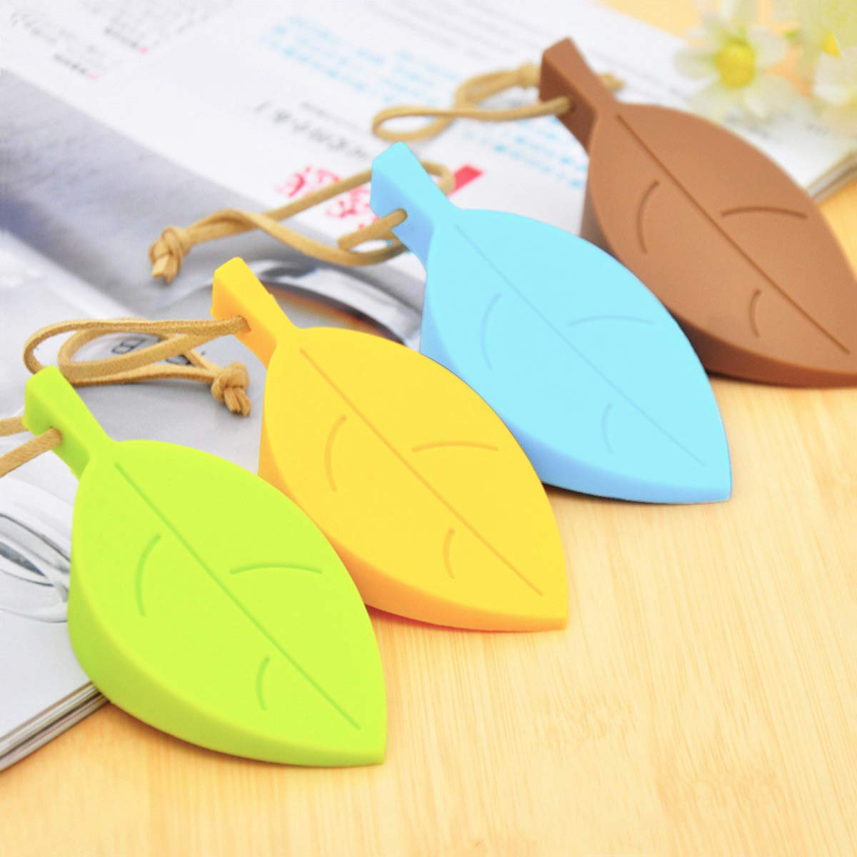 Cute Leaf Door Holders Works on All Surfaces Baby Finger Pinch Guard Made of Soft Durable Foam,4 Pack Leaf Door Stop Wedge and 5 Pack C-Shape Buffer Home Door Stopper Baby Finger Protector