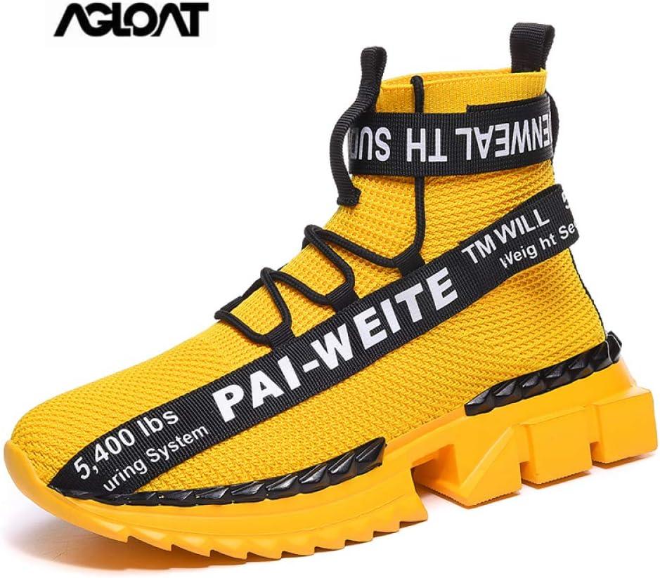 CHXY Zapatos Deportivos Mujer,Zapatos,calcetin Tobillero Hombre,Zapatillas Running Sneakers Al Aire Ligero Niño Niña Unisex,Yellow-41: Amazon.es: Hogar