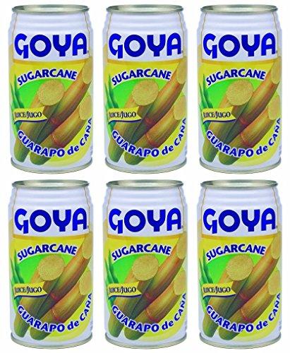 (Goya Sugarcane Juice 11.8 Fl.Oz | Guarapo de Caña Jugo | Caldo de Cana 350ml (PACK OF 06))